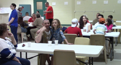 Children Bond with Fathers at East Texas Facility