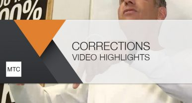 Corrections: Spring 2020 Video Highlights