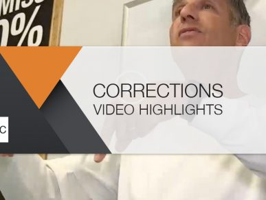 Corrections: Winter 2019 Video Highlights