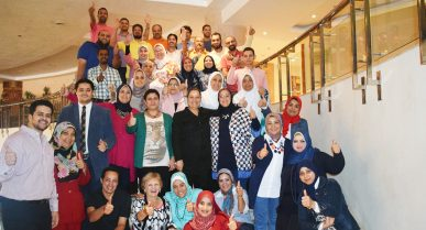 Peer to Peer Training Prepares Egyptian Students for Success