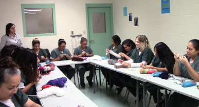 Women at Willacy Facility Build Self-Esteem and Help People in Need with Yarn and Needles