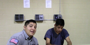 Men at the Otero County Processing Center Now Have a Window