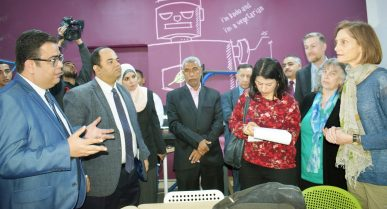 MTC's Egypt Project Helping Students Turn their Ideas into Reality