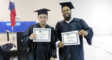 Men at the Cleveland Facility Explain How they Earned Their GED