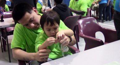 Dads at Kyle Facility Reunite with Children during Special Daylong Event