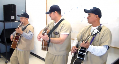 Getting Tuned Into Music at the Giles W. Dalby Correctional Facility