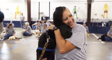 See How a Dog Program at the Gadsden Facility is Helping Women Change