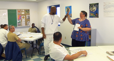 Incarcerated Men and Community Leaders Clearly See Difference at Bradshaw State Jail