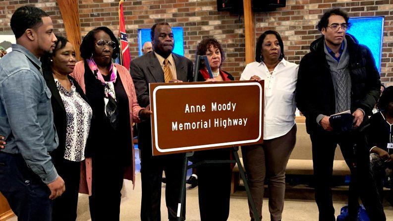NEWS: Anne Moody Highway Dedication Service