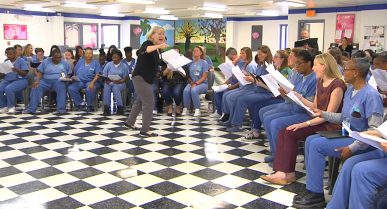 Glee Club Brings Hope and Purpose to Women at the Gadsden Facility