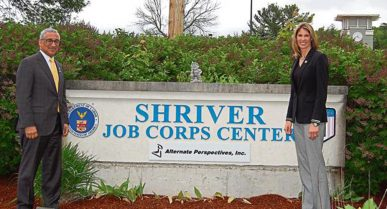 NEWS: Jobs front and center for tour at Devens site