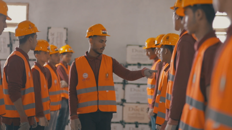 Improving Thousands of Lives in Egypt Through Workforce Development Training