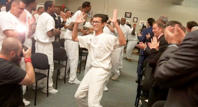 "NEWS: ""I'm just truly blessed to be given a second chance"": Prison entrepreneurship program gives inmates hope"