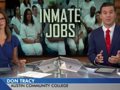 NEWS: New program in Texas prison gives inmates tools to succeed in society