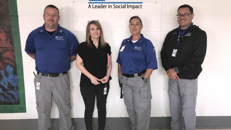 Staff Members at MTC Facility Save Man's Life