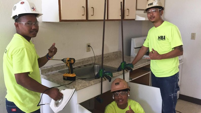 Construction Students at Hawaii Use Skills to Help the Homeless
