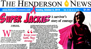 Newspaper Features Cancer Survivor who Works at the East Texas Treatment Facility
