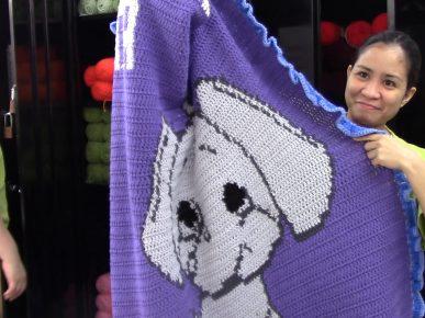 Blankets to Keep Seniors Warm Thanks to Women at MTC's Otero Facility