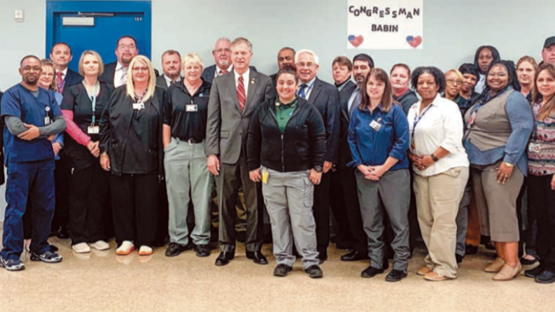 NEWS: U.S. House of Reps visits IAH Secure Adult Facility