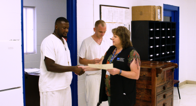 An Instructor at Diboll with a Real Passion to Help Incarcerated Men Improve