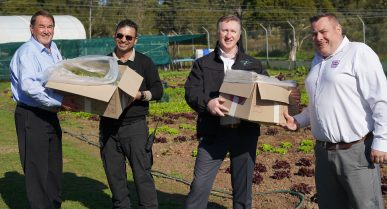 Parklea Correctional Centre Donates to Food Bank