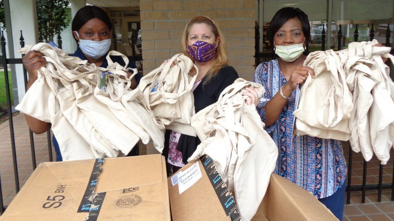 NEWS: Delivering Care Packages to Elderly Residents