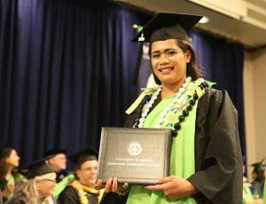 Hawaii Job Corps Kanela at Graduation