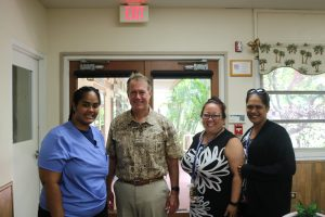 Hawaii Job Corps Kanela with co workers