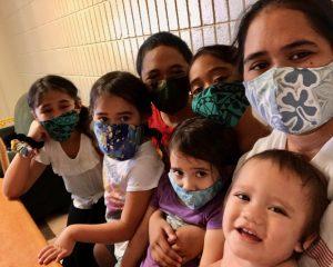 Hawaii Job Corps Kanela with her family