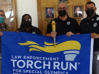 Otero I Honored to Be a Part of the Law Enforcement Torch Run