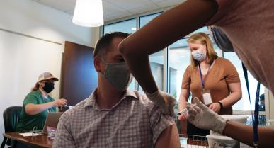 MTC Hosts COVID-19 Vaccine Clinic