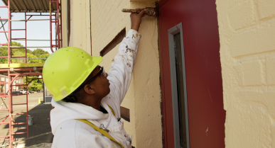 A Student at Tongue Point Job Corps Prepares for Career Success