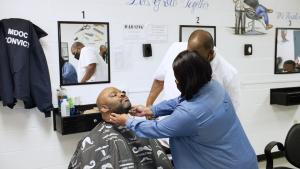 Marshall Barber Certification Still