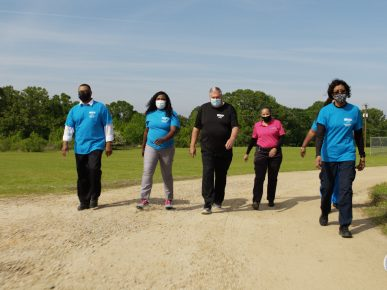 A New Walking Program and the Benefits at Wilkinson County Correctional Facility